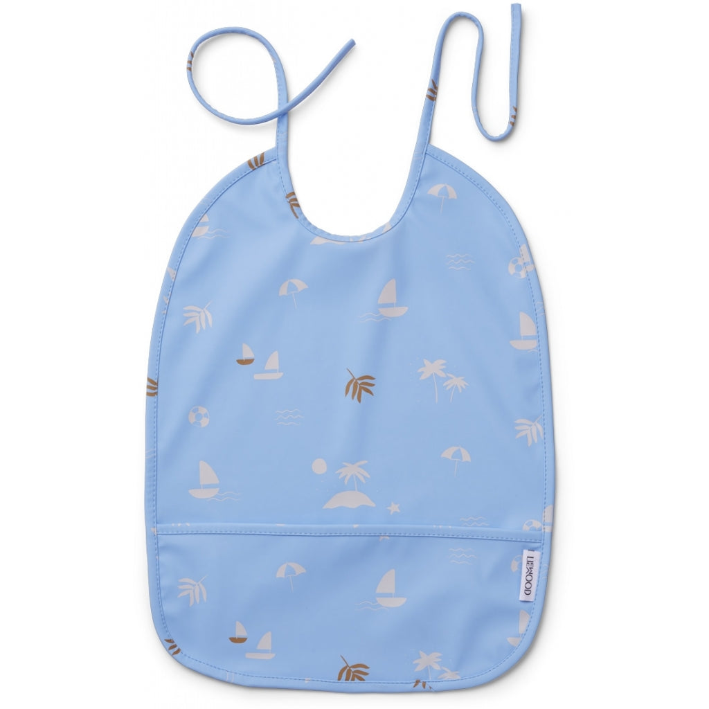 Liewood - Lai Bib Seaside sea blue