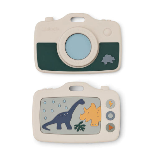 Liewood - Steven Camera Teether Dino