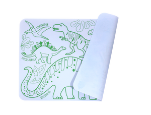 SuperPetit - Mini Playmat Dinosaurier
