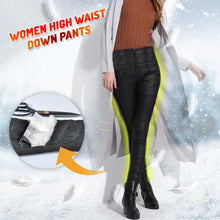 Load image into Gallery viewer, Women High Waist Down Pants