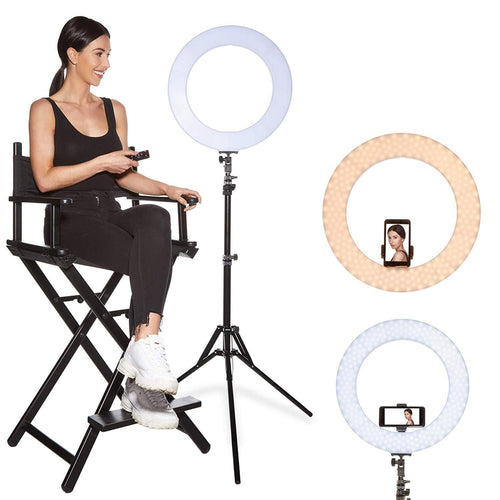 6 Inch LED Ring Light Adjustable Tripod
