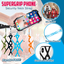 Load image into Gallery viewer, SuperGrip Phone Security Neck Strap
