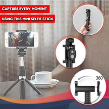 Load image into Gallery viewer, 4 in 1 Wireless Bluetooth Selfie Stick