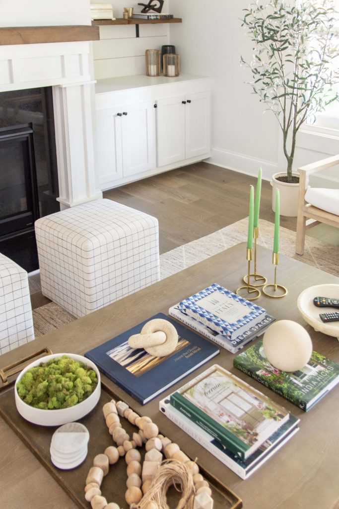 How to style a large coffee table, home decor ideas by Kevin Francis O'Gara on Thou Swell #homedecorideas #interiordesign #homedesign #interiordesigner