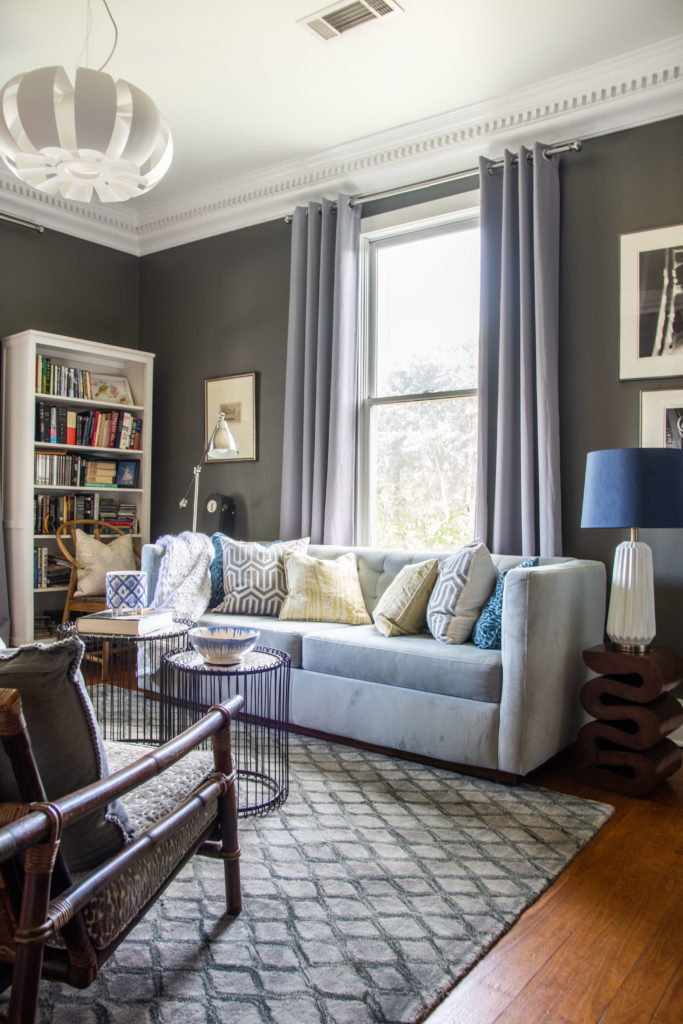 Tye Street Project final home tour, Southern interior design from a Cabbagetown bungalow in Atlanta, GA design by Kevin Francis Design on Thou Swell @thouswellblog
