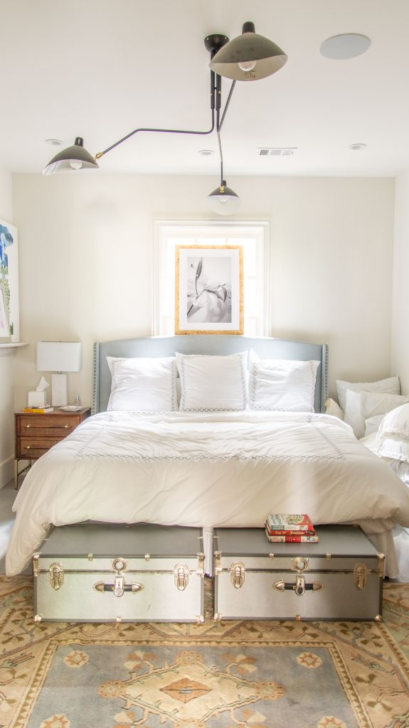 Bedroom design before and after on Thou Swell