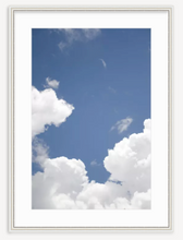 Clouds in Blue Sky I - Kevin Francis Design