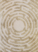 Amiens Hand-Tufted Maze Area Rug - Kevin Francis Design