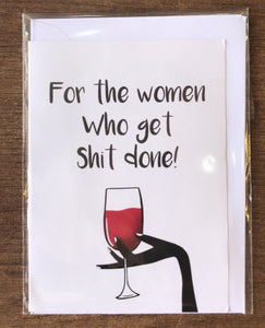 For The Women Card