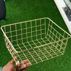 Metallic basket (small)
