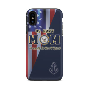 US Navy Mom Tough Case