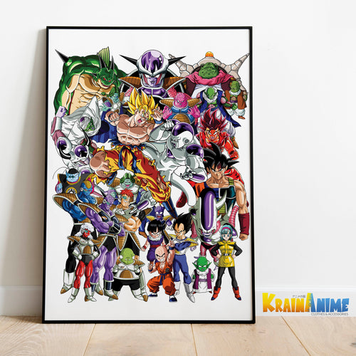 Plakat - Frieza saga - Dragon Ball