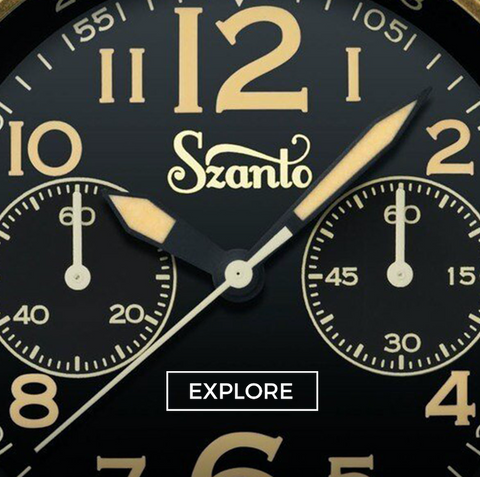 Discover Szanto Watches (Desert Sands Chronograph)