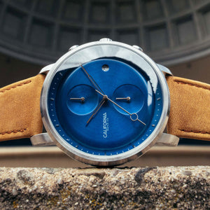 golden gate chrono tan blue
