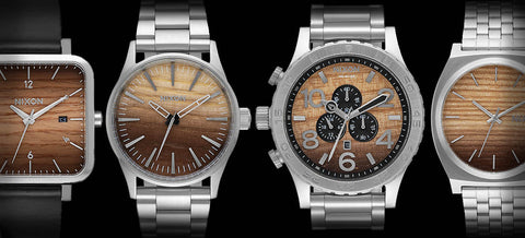 Nixon Wood Watch Collection