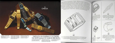 Andrew Grima Watches for Omega About Time Collection
