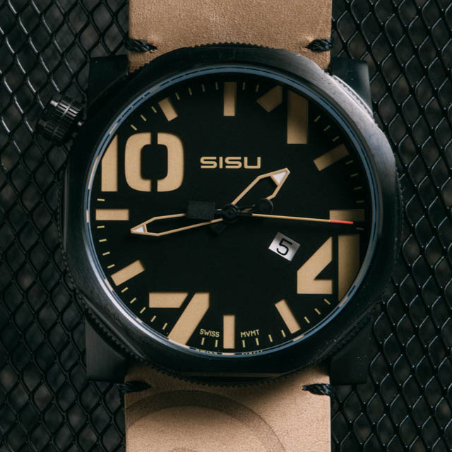 sisu bravado black tan