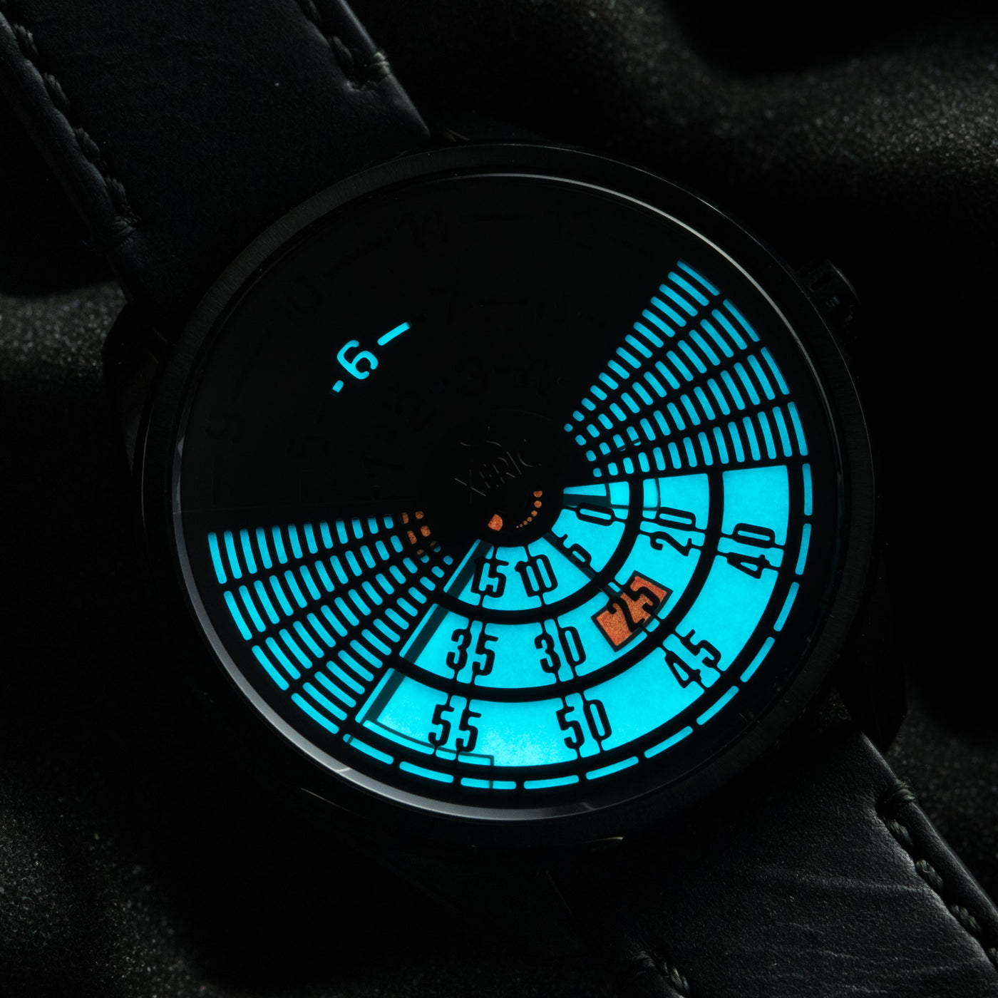 xeric decypher lume - all black red