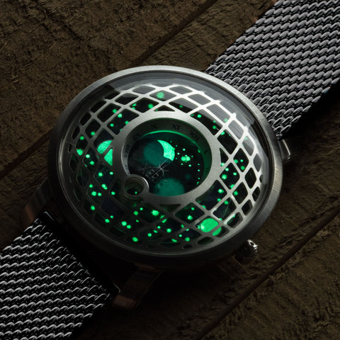 Xeric Trappist-1 Glowing Dial
