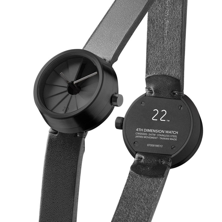 22 Design 4th Dimension Concrete Watch 30mm Shadow