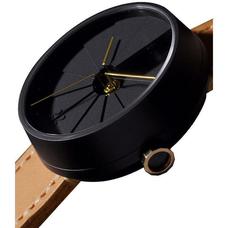 22 Design 4th Dimension Midnight Concrete Watch
