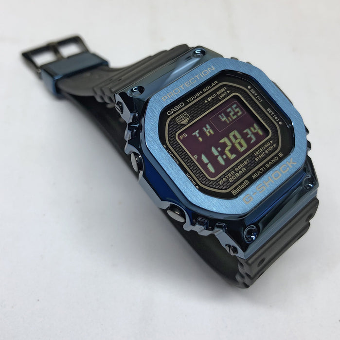 G-Shock GMWB5000G Blue Metal Limited Edition angled shot picture