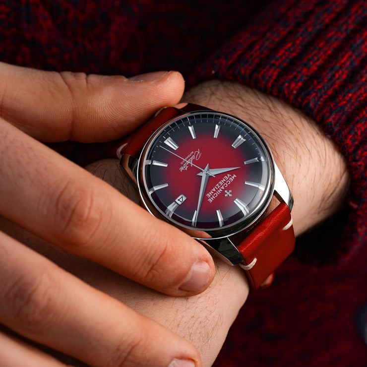 Meccaniche Veneziane Redentore Automatic 40mm Red