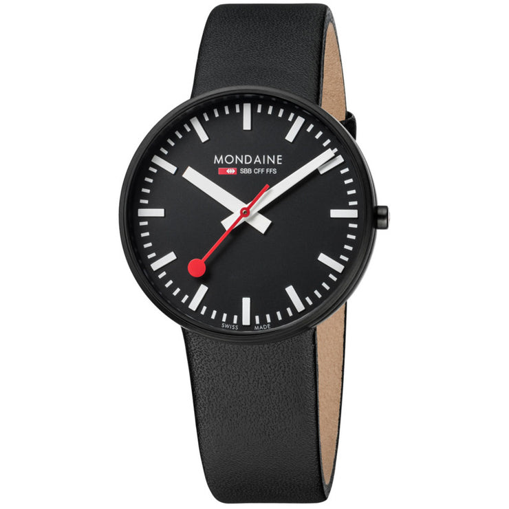 Mondaine Evo Giant All Black