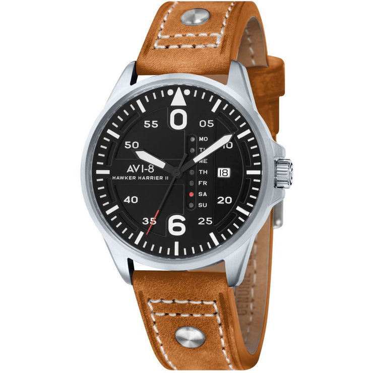 AVI-8 Hawker Harrier II Date Black Tan