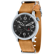 AVI-8 Flyboy Multi-Function Automatic Brown Silver