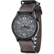 AVI-8 Flyboy Multi-Function Automatic Grey Black