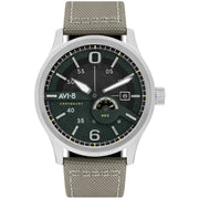 AVI-8 Flyboy Centenary Automatic AV-4061-01 White Silver