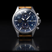 AVI-8 Hawker Harrier II Bulman Edition Chrono Navy Tan