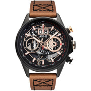 AVI-8 Hawker Harrier II Matador Chronograph Black Brown