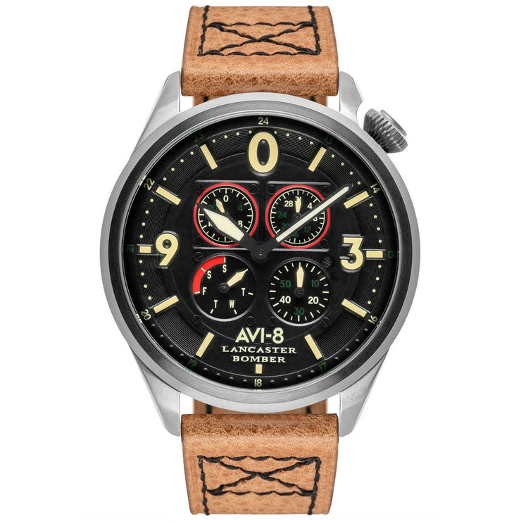 AVI-8 Lancaster Bomber AV-4050-01 Quad Tan Black