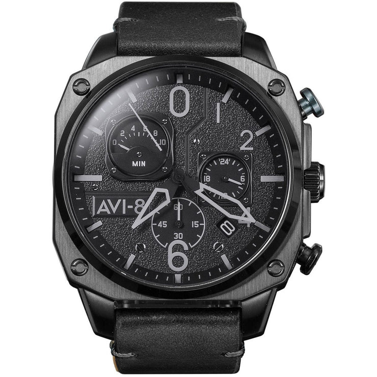 AVI-8 Hawker Hunter AV-4052-06 Chronograph Stealth