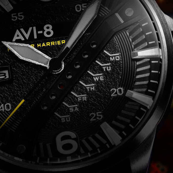 AVI-8 Hawker Harrier II AV-4055-03 Olive Silver angled shot picture