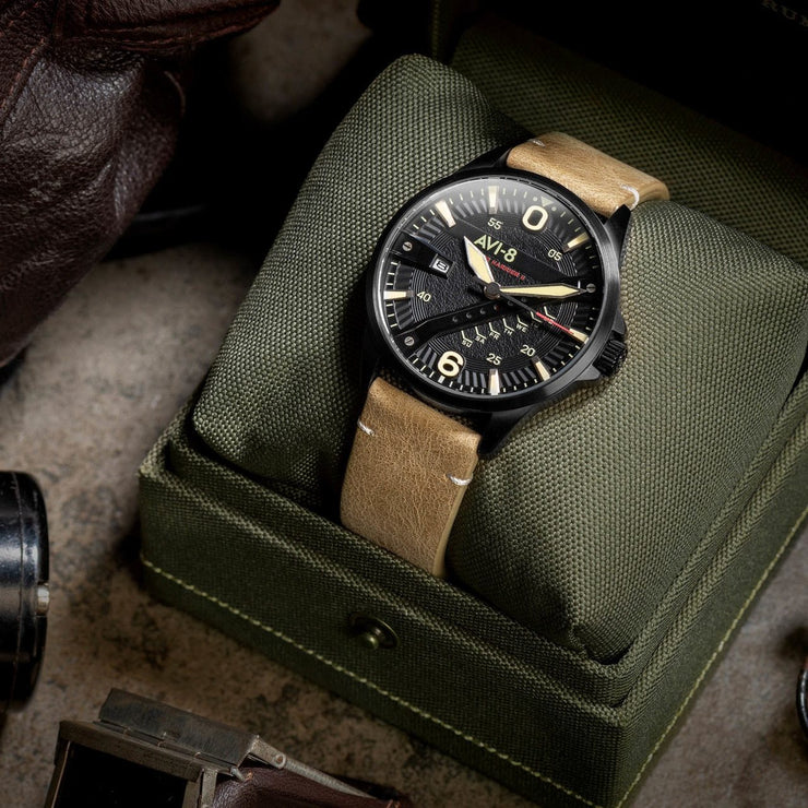 AVI-8 Hawker Harrier II AV-4055-04 Black Tan