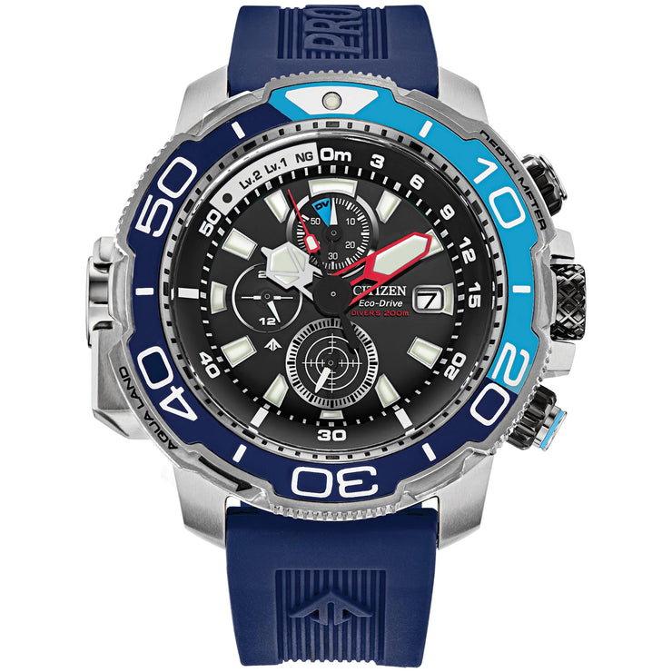 Citizen Eco-Drive Promaster Aqualand Chronograph Blue Collector's Edition