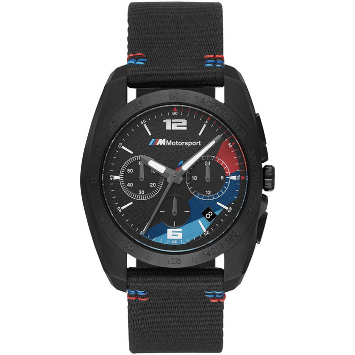 BMW 2001 M Motorsport Chronograph Black IP angled shot picture