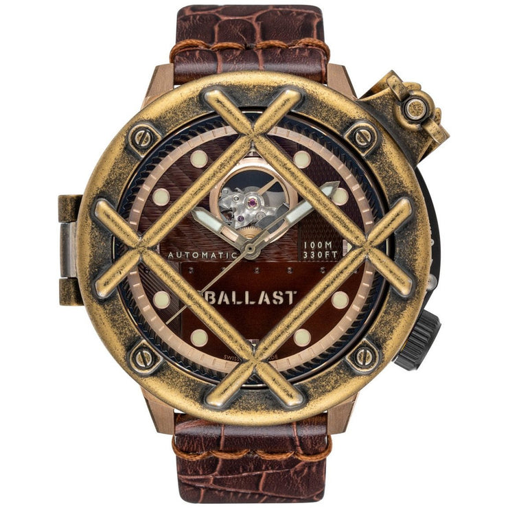 Ballast Trafalgar Automatic Bronze Brown