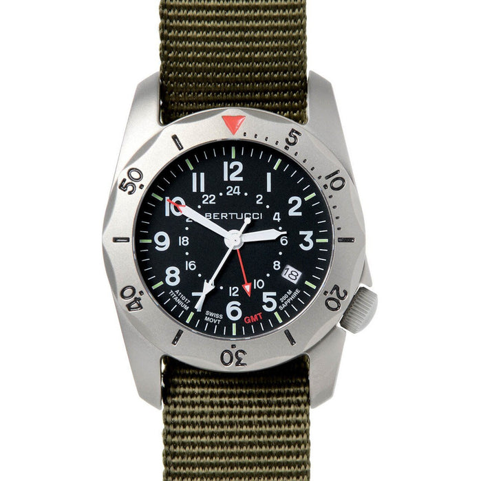Bertucci A-2TR Vintage GMT Olive Black angled shot picture