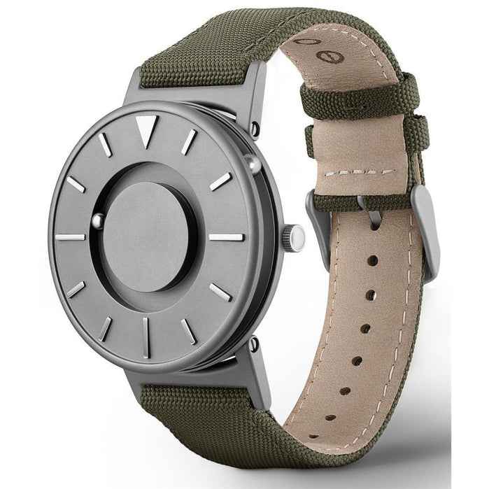 Eone Bradley Classic Canvas Olive Green angled shot picture