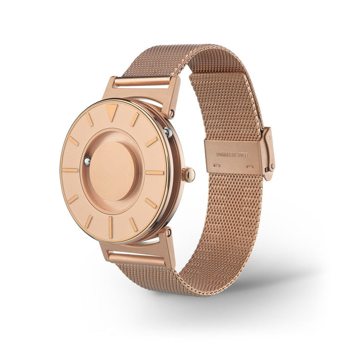 Eone Bradley Classic Rose Gold Mesh II angled shot picture