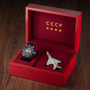 CCCP MIG-21 Automatic Silver Blue Limited Edition
