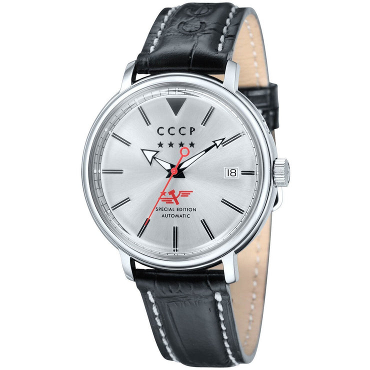 CCCP Heritage Automatic Silver Black