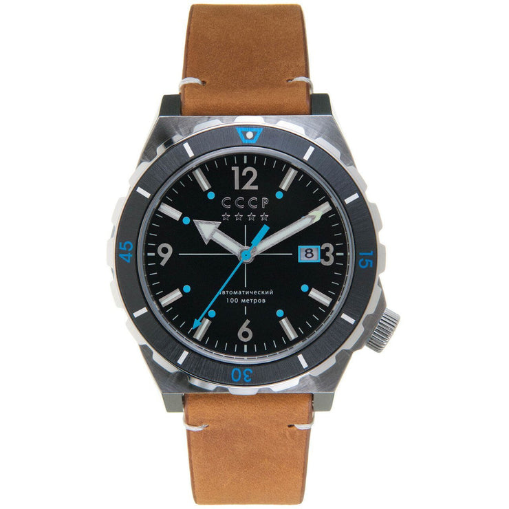 CCCP Aurora Automatic Silver Brown Black