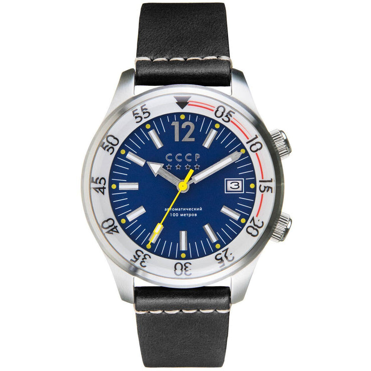 CCCP Black Sea Automatic Silver Black Blue