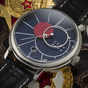 CCCP Friedmann Automatic Silver Black Blue