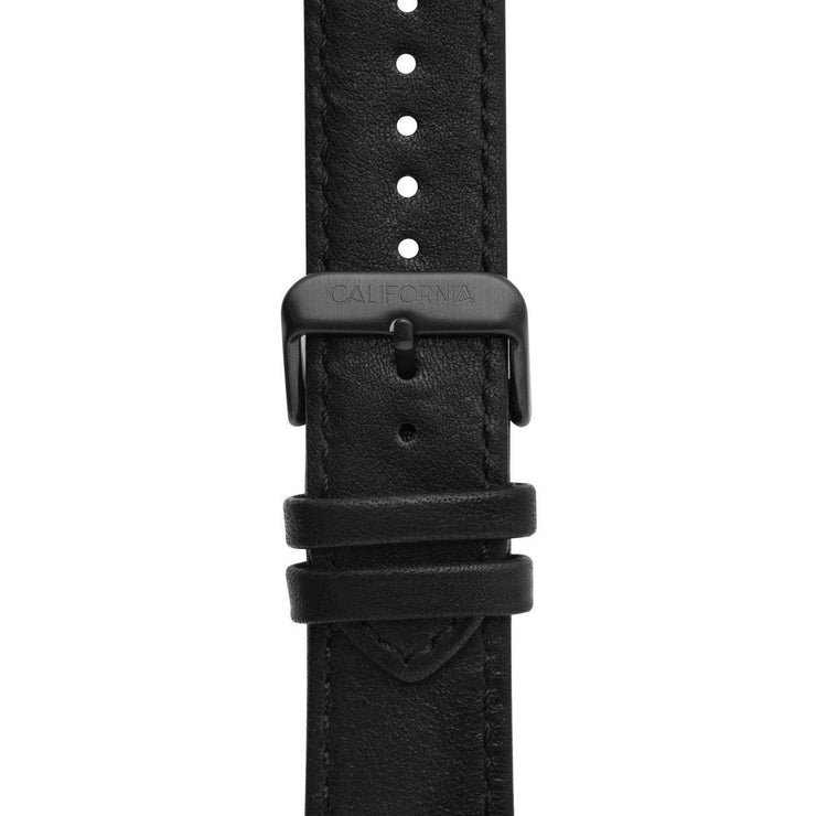 California Watch Co. 22mm Leather All Black